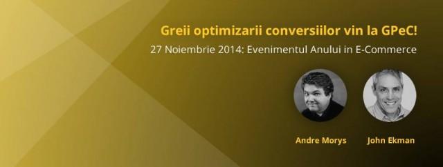 GPeC Summit – Bucuresti, 27 noiembrie 2014
